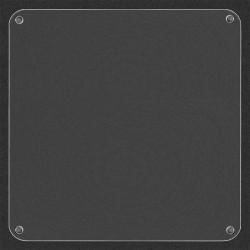 Крышка органайзера на магнитах 19х19см пластик ВС