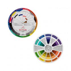 Цветовой круг d13см