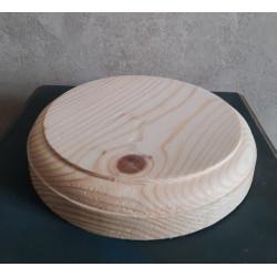 Доска сырная с фаской, заготовка для декорирования d20см сосна 3,7см NZ