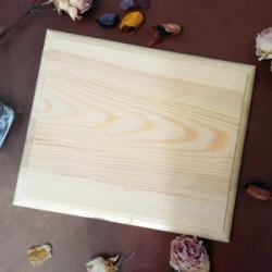 Доска с фаской, заготовка для декорирования 20х17х2,3см сосна NZ