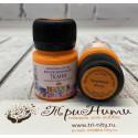 Оранжевая флуоресцентная краска по ткани акриловая 20мл Decola +t!