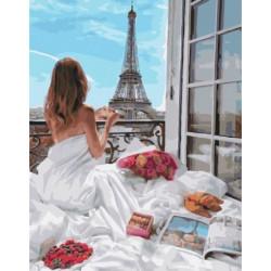 Маленькие прелести утра, картина по номерам на холсте 40х50см 27цв Original
