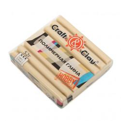 Камея, полимерная глина эффект кашемир запекаемая 52гр Craft&Clay
