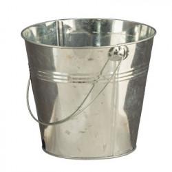 Ведро, заготовка для декорирования, металл высота 5 см