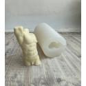 Торс мужской, 3D силиконовая форма h11см