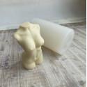 Торс женский, 3D силиконовая форма h11см