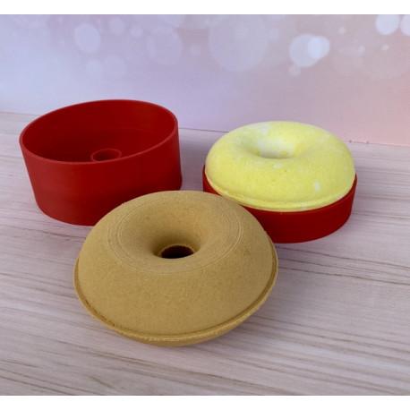 Пончик 9см, 3D форма для бомбочек (шипучек)