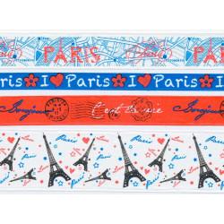 Париж, скотч с принтом (набор) 4х3м
