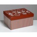 Яркий праздник, коробка складная 31х26х16см гофрокартон АУ