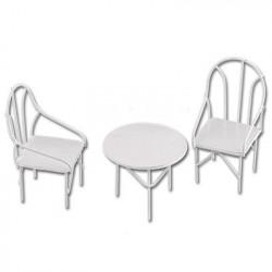 Мебельный гарнитур, заготовка для декорирования металл 6х9см. Blumentag