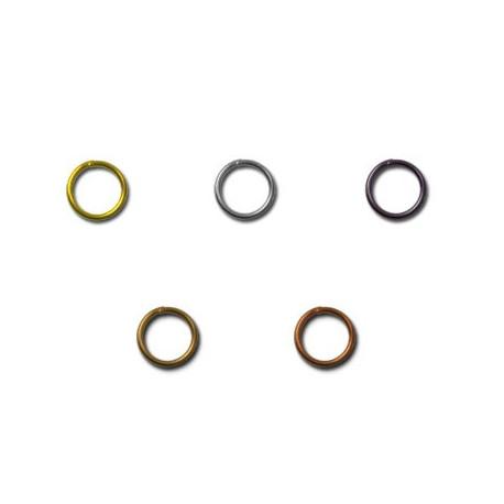 Под золото, кольцо для бус 5мм 50шт, железо Zlatka