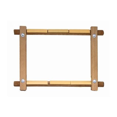 Пяльца-рамки с клипсой 30х30 Золотое руно