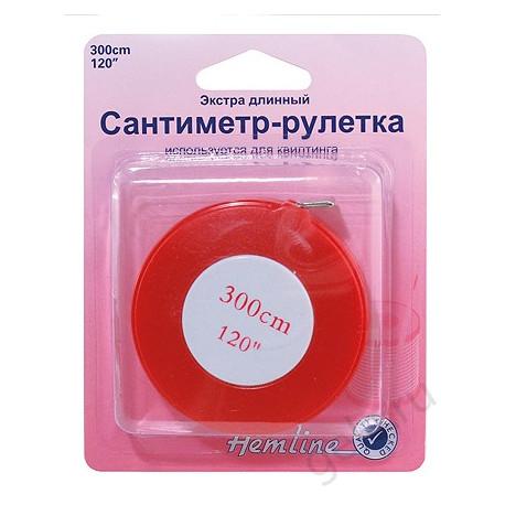 Сантиметр-рулетка экстрадлинный, 300см
