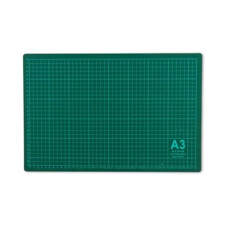 Мат для резки формат А3/серо-зеленый 45х30см, GAMMA