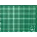 Мат для резки формат А4/серо-зеленый 30х22см, GAMMA