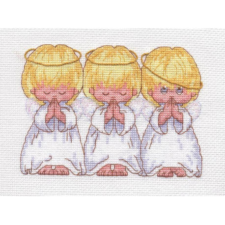 Почти идеальный, набор для вышивания крестиком, 18х13см, 10цветов Dimensions
