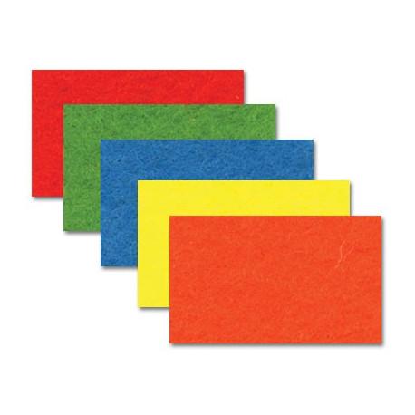 Набор Фетр декоративный А-270/350 40%шерсть, 60%вискоза, толщина 1мм, 20х30см, 5 шт
