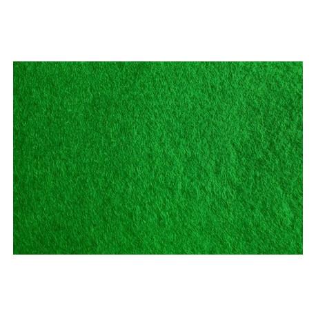 Зеленый, фетр декоративный А-270/350 40%шерсть, 60%вискоза, толщина 1мм, 30х45см