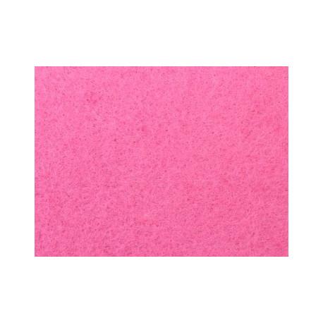 Светло-розовый, фетр декоративный А-270/350 40%шерсть, 60%вискоза, толщина 1мм, 30х45см