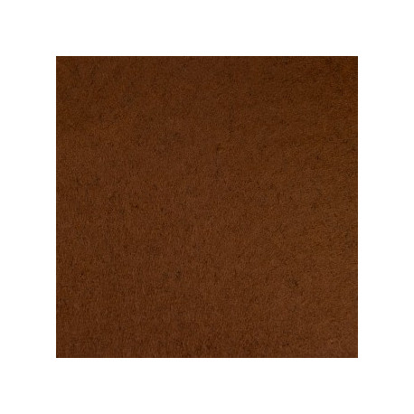 Молочный шоколад, фетр декоративный А-270/350 40%шерсть, 60%вискоза, толщина 1мм, 30х45см