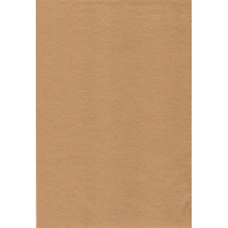 Темно-бежевый, фетр декоративный А-270/350 40%шерсть, 60%вискоза, толщина 1мм, 30х45см