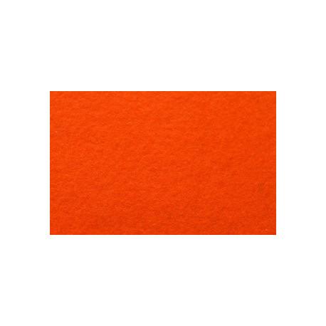Яр.оранжевый, фетр декоративный А-270/250 40%шерсть, 60%вискоза, толщина 1мм, 30х45см