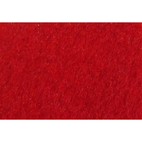 Темно-красный, фетр декоративный А-270/250 40%шерсть, 60%вискоза, толщина 1мм, 30х45см