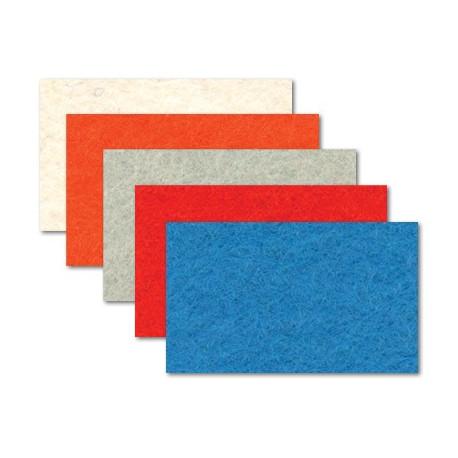 Набор Фетр декоративный А-270/250 40%шерсть, 60%вискоза, толщина 1мм, 20х30см, 5 шт