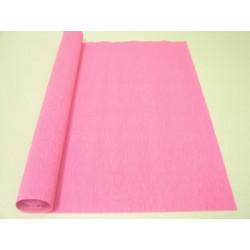 Розовый, креп(гофробумага), 2,5*0,5м