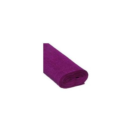 Фиолетовый, креп(гофробумага), 2,5*0,5м