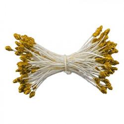 Под золото, тычинки для цветов, 85шт. Fiorico