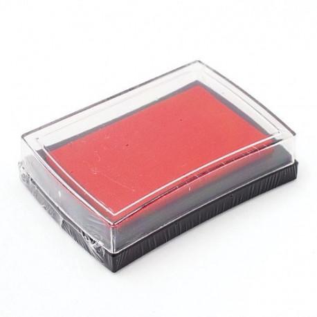Красный, штемпельная подушка 34х34х20мм Mr.Painter