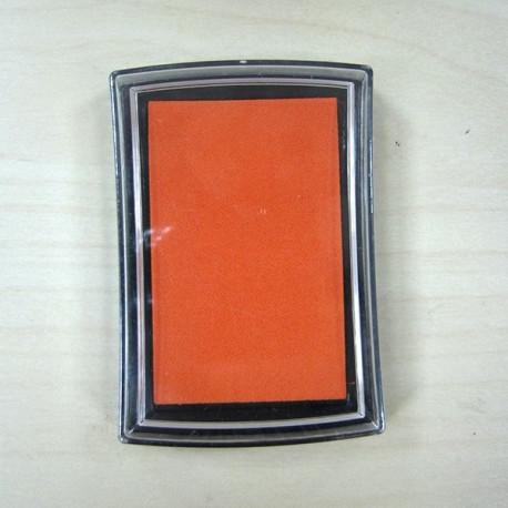 Оранжевый, штемпельная подушка 34х34х20мм Mr.Painter