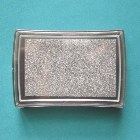Под серебро, штемпельная подушка 34х34х20мм Mr.Painter