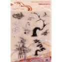 Китайские мотивы №2, набор штампов 14*18 см Mr.Painter