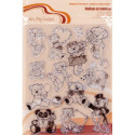 Мишки №1, набор штампов 14*18 см Mr.Painter