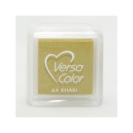 Подушечка чернильная пигментная Versacolor, размер 2,5х2,5 см, цвет хаки