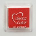 Подушечка чернильная пигментная Versacolor, размер 2,5х2,5 см, цвет камелия