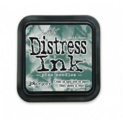 Штемпельная подушечка Tim Holtz Distress на водной основе, 5х5 см, цвет еловые иглы