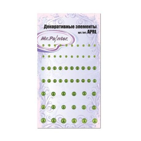 Зеленый, декоративные элементы 58шт, Mr.Painter