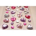 Сердечки, декоративные элементы 34шт, Mr. Painter