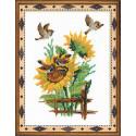 Казанская Богоматерь, набор для вышивания крестиком, 17х21см, нитки шерсть Safil 11цветов Риолис