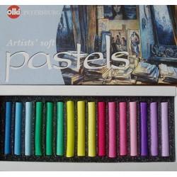 Пастель художественная 16 цветов Ассорти №5 Olki