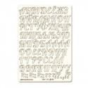 Русский алфавит №2 чипборд 11,5х16,5 см Mr.Painter