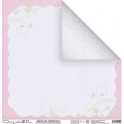 Босоногое счастье, бумага для скрапбукинга 30.5x30.5 см, Mr.Painter
