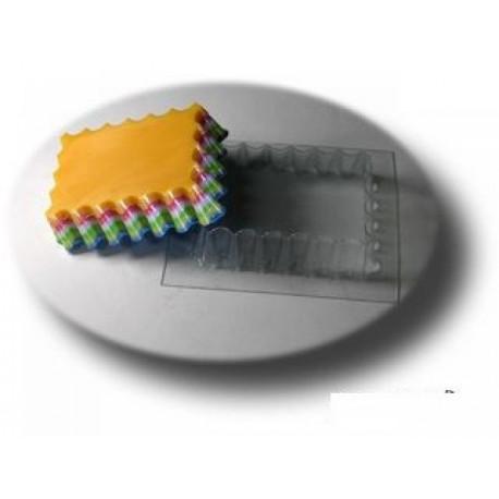 Волнушка, пластиковая форма для мыла МФ