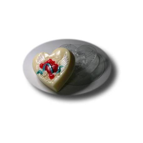 На крыльях любви, пластиковая форма для мыла МФ