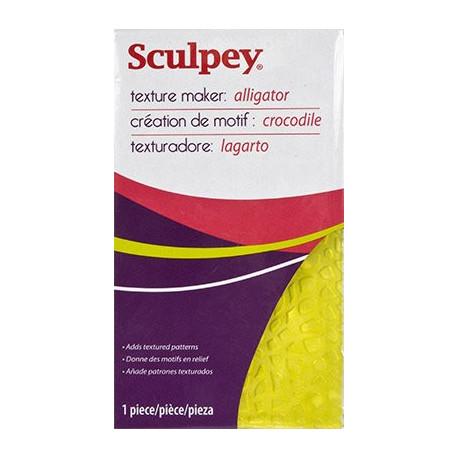 Аллигатор, Texture Maker текстурный лист, Sculpey