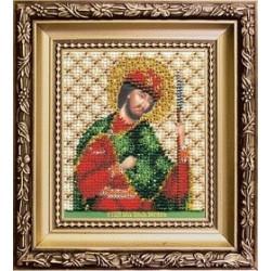Икона святого благоверного князя Бориса , набор д/выш. Чарiвна Мить