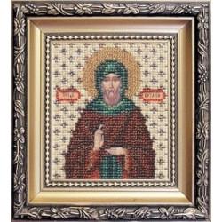 Икона Святому Преподобносу Виталию , набор д/выш. Чарiвна Мить